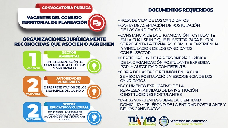 CONVOCATORIA PLANEACION HORIZONTAL WEB